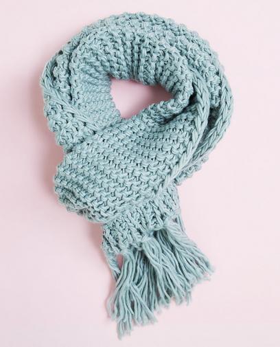 Grofgebreide sjaal